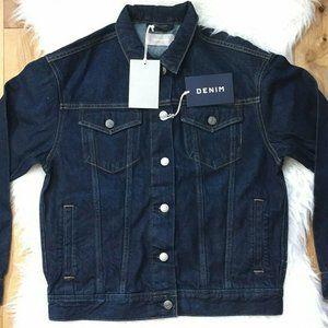 Everlane The Denim Jacket Vintage Dark Blue Wash